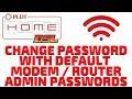 How To Change Password With PLDT Default Modem / Router Admin Passwords 2019 [Updated]