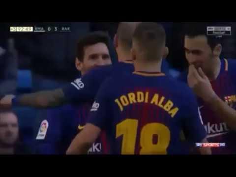 Match highlight, Real madrid 0-3 Barcelona, Santiago bernabeu Bungkam.