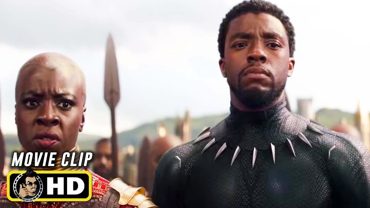 "Download AVENGERS: INFINITY WAR Clip - ""Wakanda Battle"" (2018) Marvel"