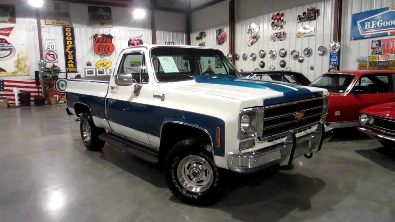 sold 1978 chevy scottsdale for sale passing lane motors classic cars youtube [ 1280 x 720 Pixel ]