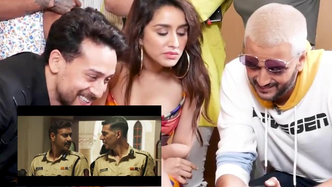 Download Sooryavanshi Official Trailer Reaction   Tiger Shroff  Shraddha Riteish
