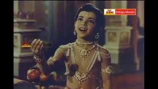 Bhaktha Prahlada Telugu Movie Songs - Chadivithi Dharmardha - S.V.Ranga Rao,Roja Ramiani,Anjali Devi