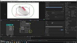 STEP 2 - Overlay and positioning of the logo for 3D photo-360