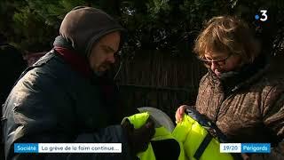 Solidarité autour du gréviste de la faim de l'hôpital de Ribérac