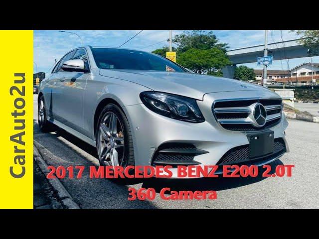 2017 MERCEDES BENZ E200 2.0T 360 Camera RM262,000