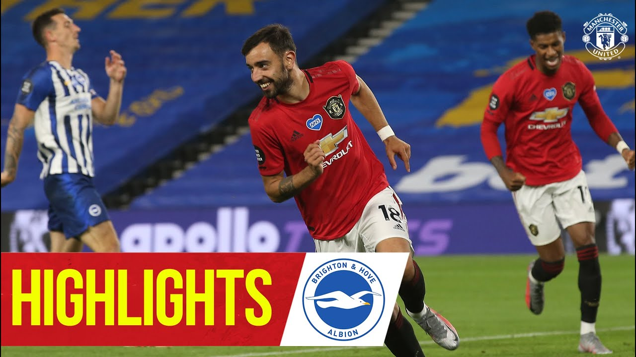 Brighton v Man United LIVE commentary: Fernandes wins it for ...