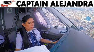 Alejandra Pilots the Superjet into Mexico thumbnail