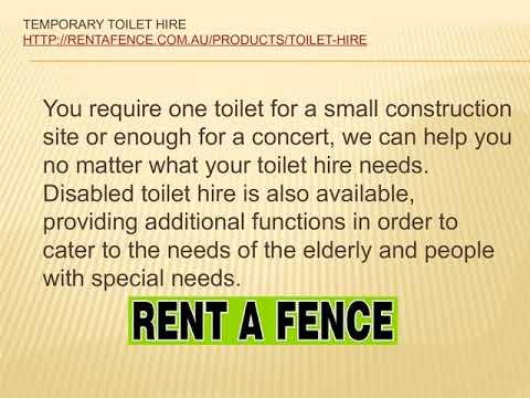 Toilet Hire Sydney | Temporary Toilet Hire | Portable Toilets Adelaide