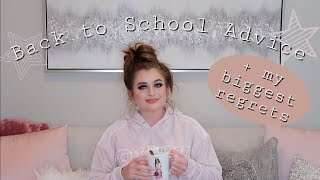 BACK TO SCHOOL advice, tips and tricks for high school and college | 2019
