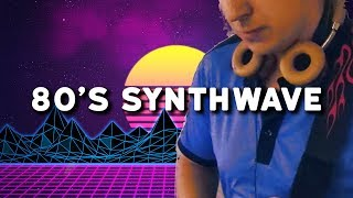 80 S Synthwave Live Electronic Music Production With Guitar Instrumental Ichor Style