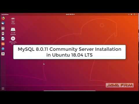 MySQL Community Server 8.0 Installation on Ubuntu 18.04 LTS
