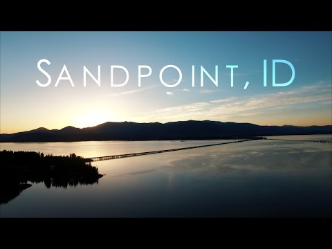 Sandpoint, Idaho | From Above