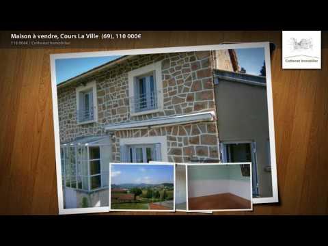 Maison à vendre, Cours La Ville  (69), 110 000€