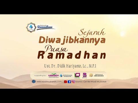 Sejarah Puasa Ramadhan   Ustadz Dr. Didik Hariyanto Lc., M.P.I.