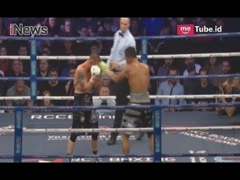 Seru! Detik-detik Kemenangan Daud Yordan Pukul KO Petinju Rusia, Pavel Malikov - Total Boxing 22/04
