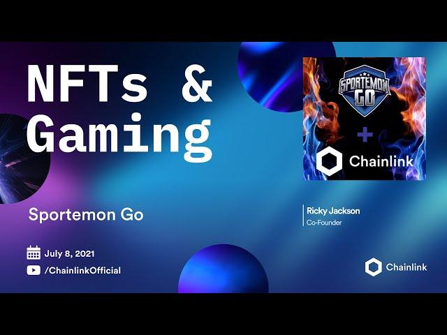 Sportemon Go on Chainlink LIVE   Blockchain eSports, Fantasy Sports, and Sports Betting Markets