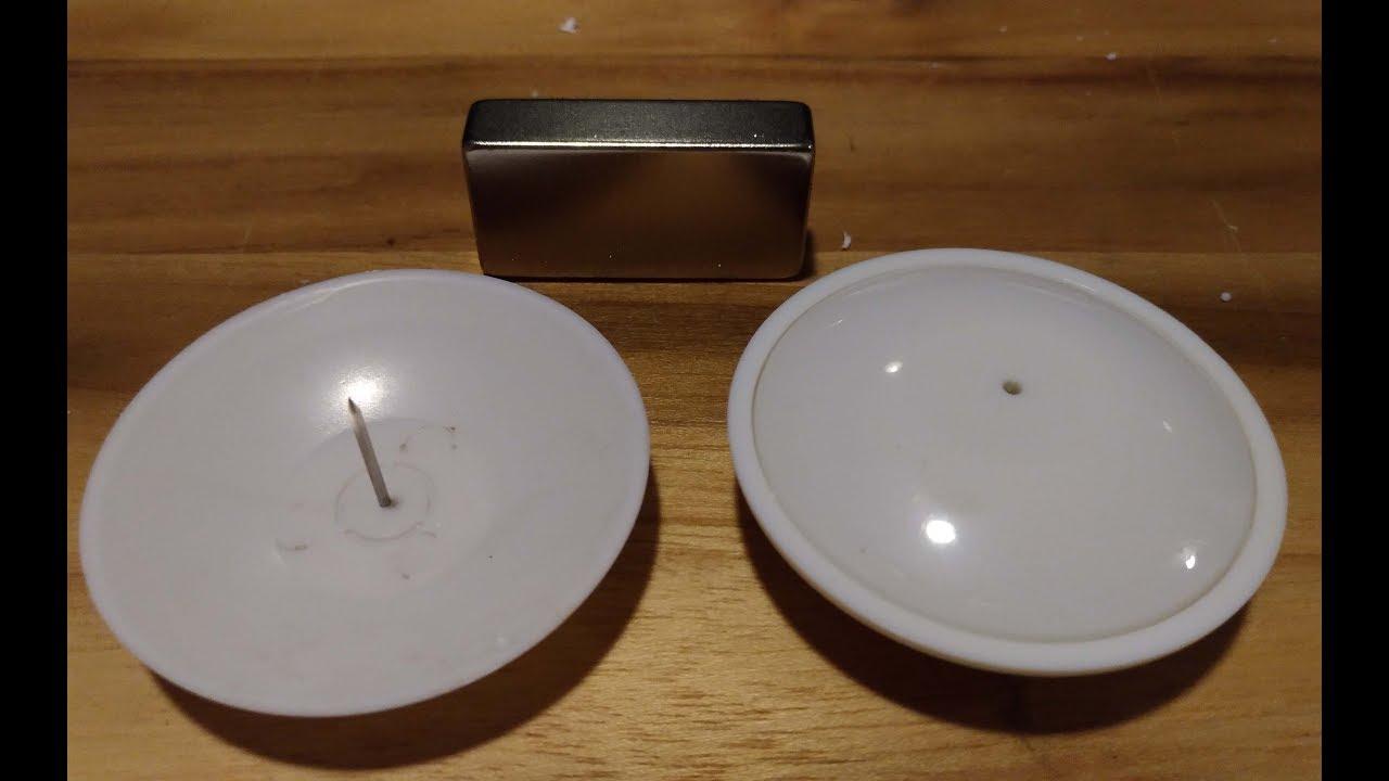 acc2419b2 Como Soltar Sensor Etiqueta de Roupa Loja com imã de neodímio - YouTube