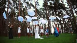 Цветовое оформление свадьбы