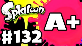Splatoon - Gameplay Walkthrough Part 132 - Rank A+! (Nintendo Wii U)