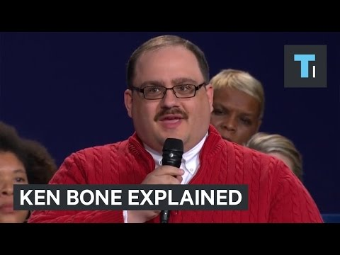 Ken Bone becomes instant internet meme after presidential debate