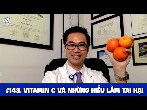 #143. Vitamin C Và Những Hiểu Lầm Tai Hại