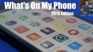 Whats On My Phone 2015 #WOMP