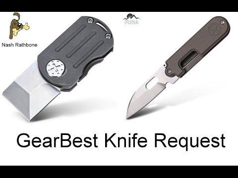 GearBest Knife Request