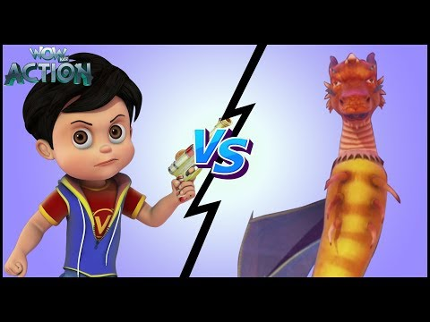 Hindi Kahaniya | Vir: The Robot Boy | Hindi Cartoon Video | Moral Stories for Kids| Vir Vs Giant Bug