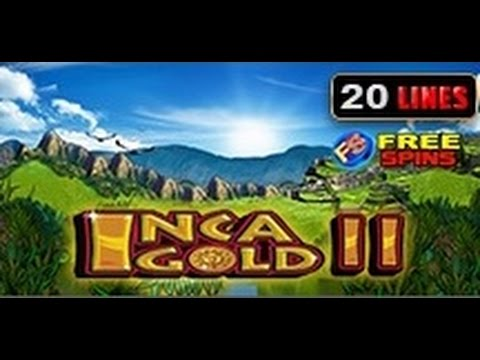 Inca Gold II - Slot Machine - 20 Lines + Bonus