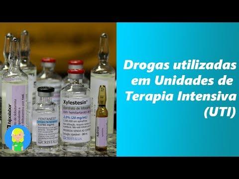 Drogas utilizadas em Unidades de Terapia Intensiva (UTI)
