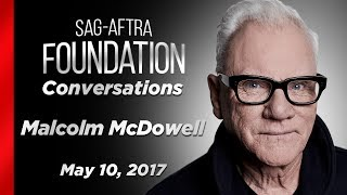 Conversations with Malcolm McDowell
