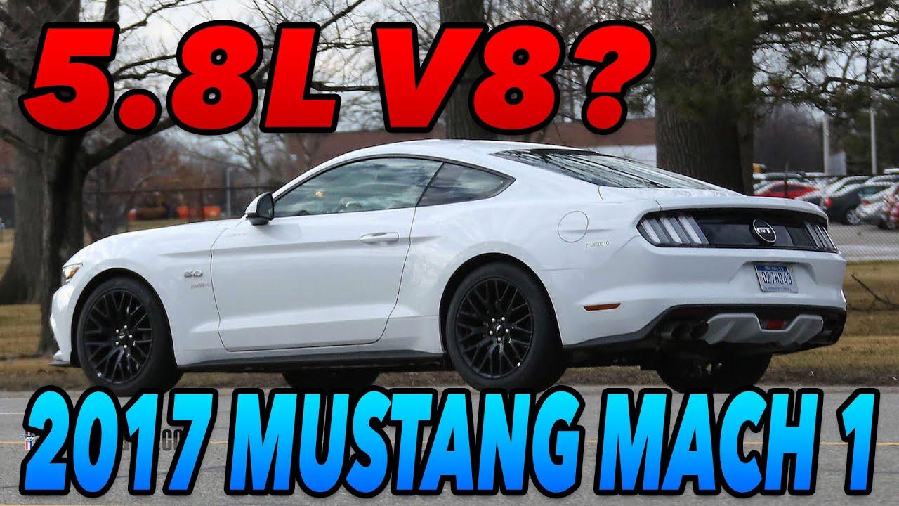 2017 Mustang Mach 1 >> 2018 Mustang Mach 1 5 8l V8 Youtube