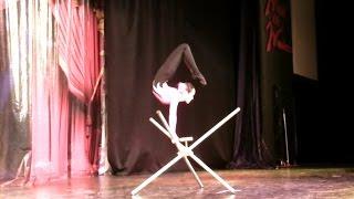 Mongolian Circus - 2. Gimnastics solo. Монгольский цирк. Эквилибристка. Topkapi Palace 5*