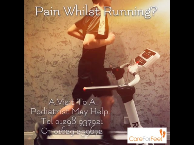 Pain Whilst Running?