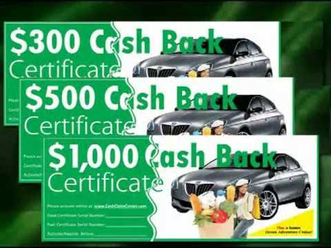 Gas Grocery Rebate Incentives That Work! www.AffordableIncen