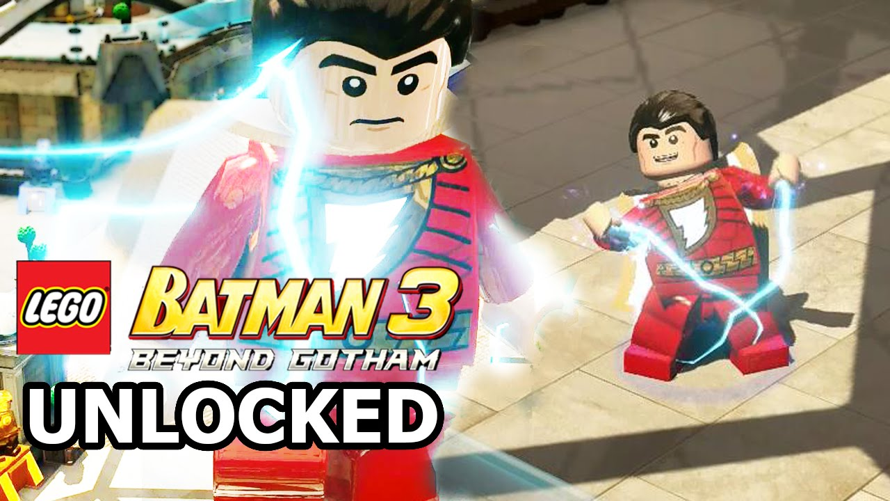 captain marvel lego batman 3
