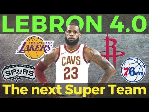 LEBRON JAMES 4.0 - Alin Ang Susunod na NBA Super Team?