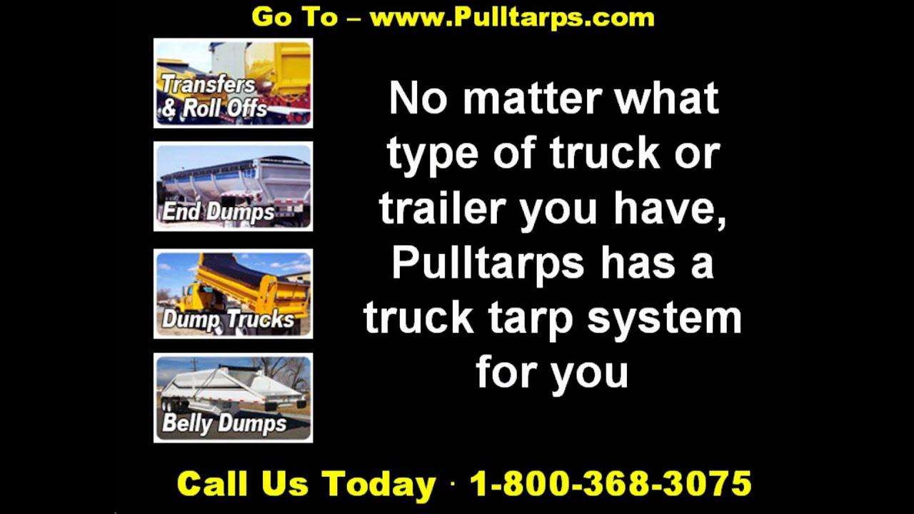 manual dump truck tarp system