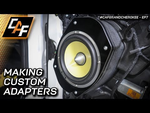 Improve Sound! Precision Acrylic Speaker Adapters - HOW TO