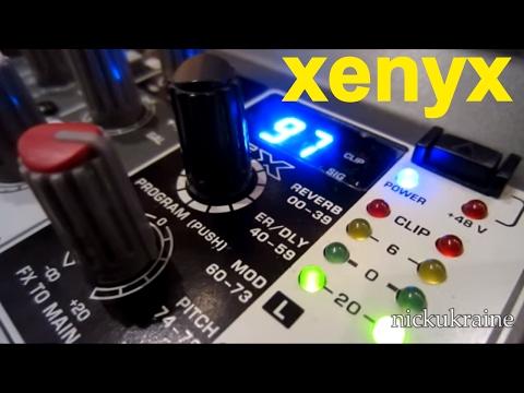 Микшер Behringer Xenyx 1002 FX Мысли ... Обзор