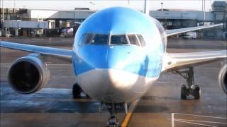 THOMSON BOEING 767 300 ER - G OBYG GLASGOW TO BARBADOS IN PREMIUM CLUB ON 14 JANUARY 2017