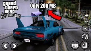 Gta sa highly compressed android