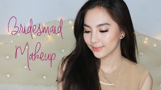 [ENG Subs] Soft and Easy Neutral Makeup for Bridesmaid or Hangout 👸
