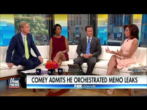 Judge Jeanine 'Predator' Comey wanted to take Trump down