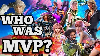 Who was MVP of the Final Fantasy XIII Trilogy?   (FF13, FF13-2, LR spoilers)