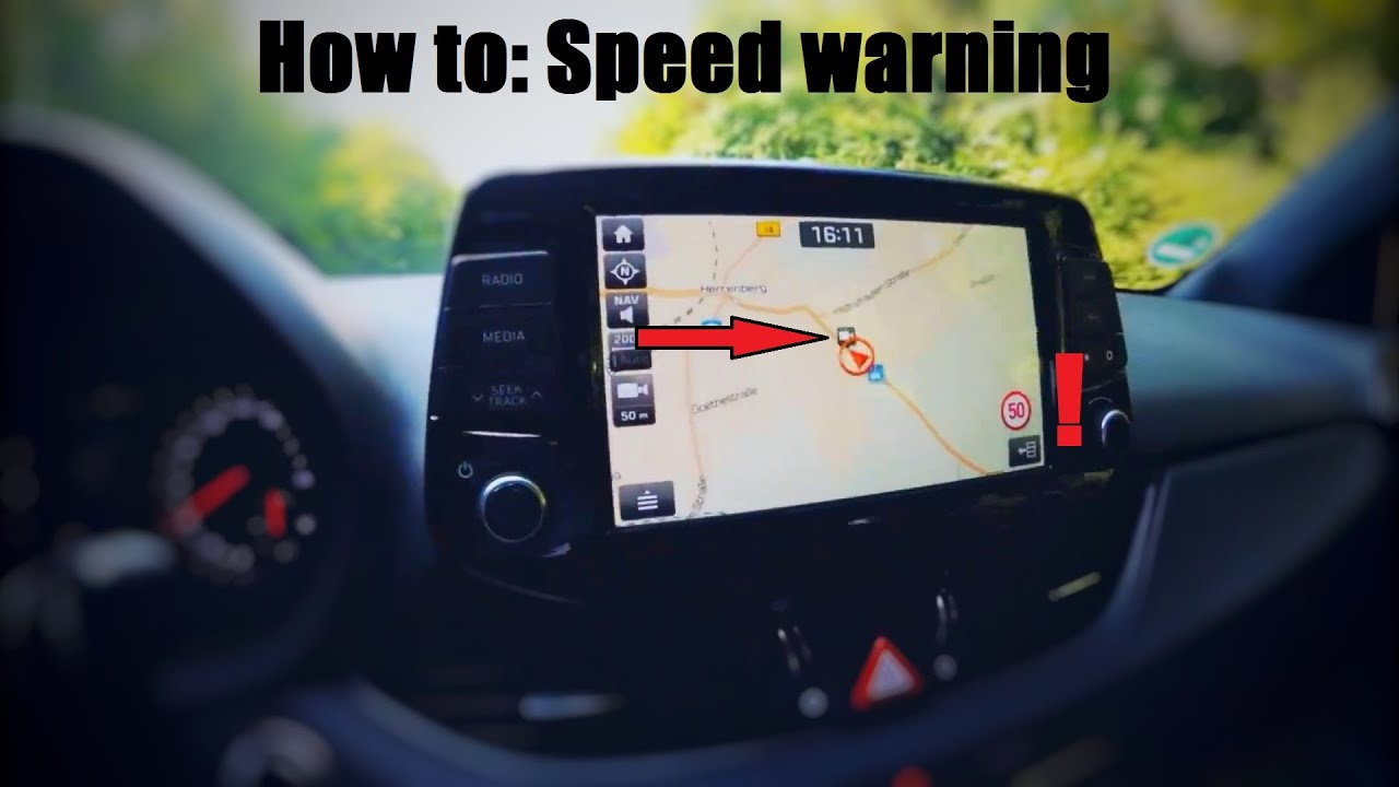 How To: Speed Camera Warnings | Hyundai i30 N Owners Club