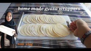 Home made kulit gyoza gyoza wrappers#kulit pangsit simple