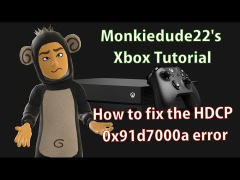 How to fix the HDCP 0x91d700a error on Xbox One