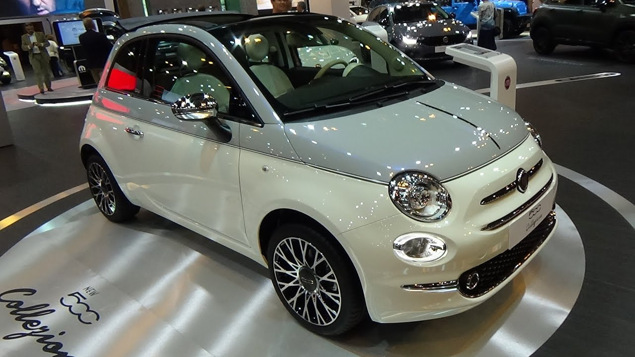 2018 fiat 500c collezione 1 2 8v 69 exterior and interior. Black Bedroom Furniture Sets. Home Design Ideas