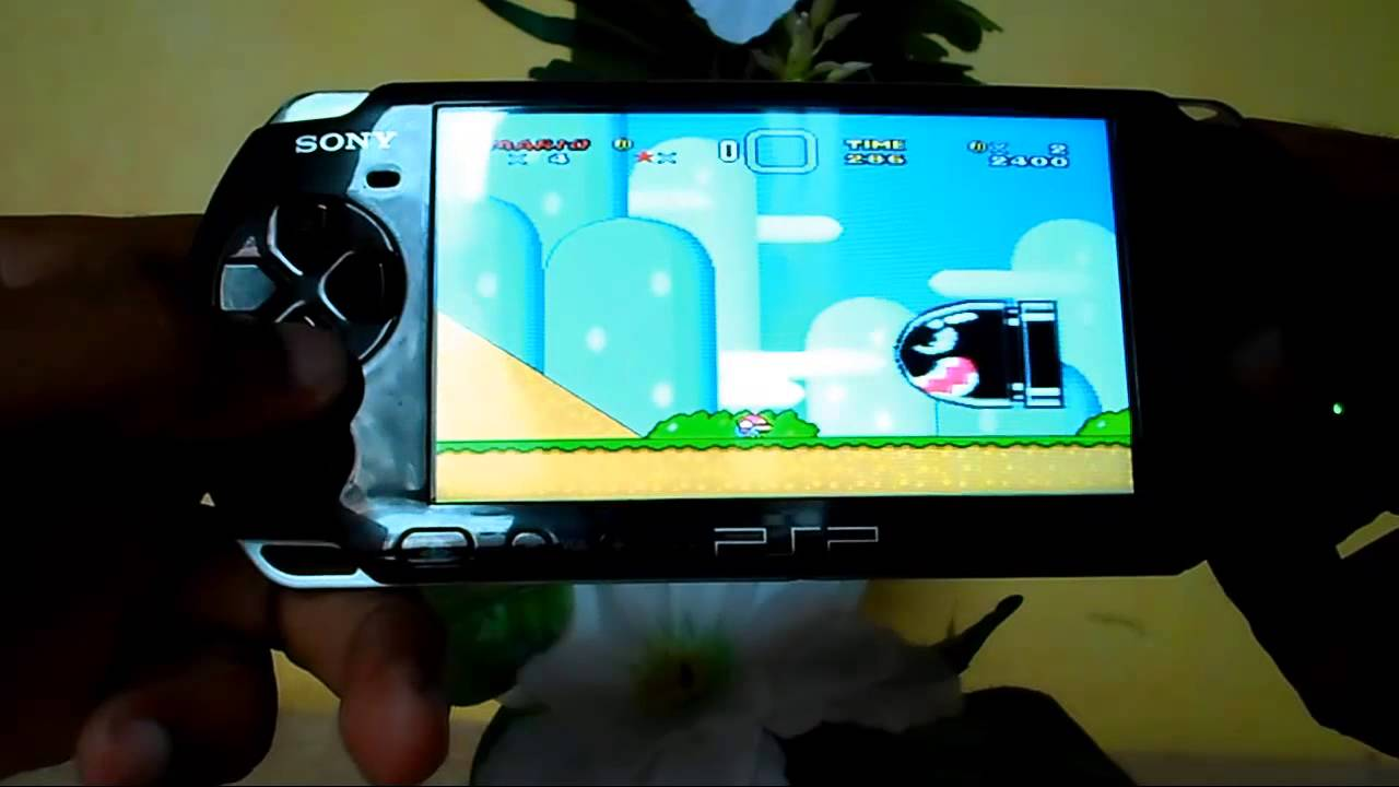 Super Mario World Snes No Psp Youtube